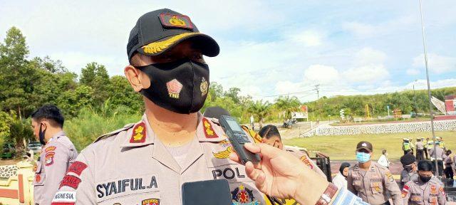 Kapolres Nunukan, AKBP Syaiful Anwar Sik.