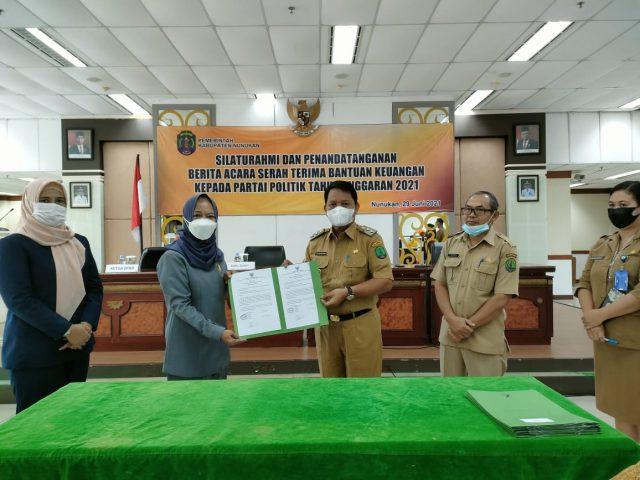 Wakil Bupati Nunukan H. Hanafiah