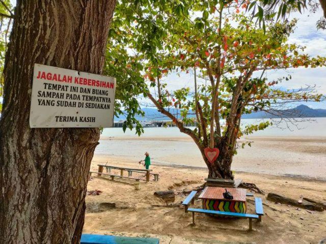 pantai Ecing Nunukan Selatan