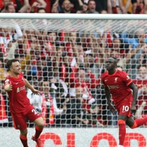 Penyerang Liverpool Sadio Mane