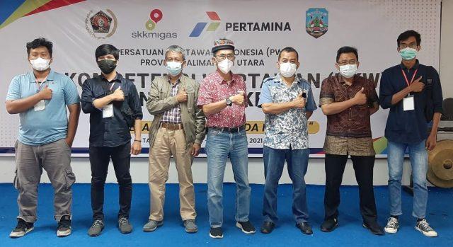 Tiga wartawan benuanta.co.id