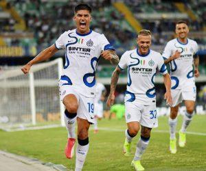 Penyerang anyar Inter Milan Joaquin Correa