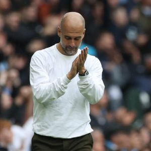 Manajer Manchester City Pep Guardiola