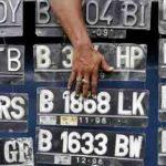 pelat nomor kendaraan