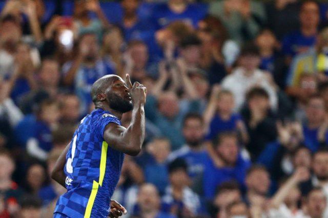 Striker Chelsea Romelu Lukaku