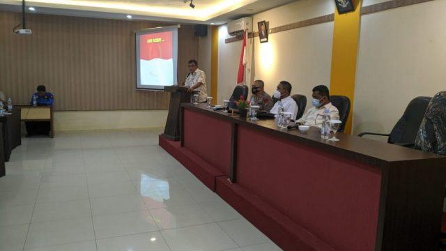 Rapat persiapan jelang keberangkatan kontingen Kaltara dalam ajang PON XX Papua