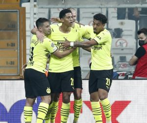 Gelandang serang Borussia Dortmund Jude Bellingham